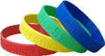 I Make A Difference Wristbands